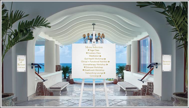 Virtual Resort Entrance
