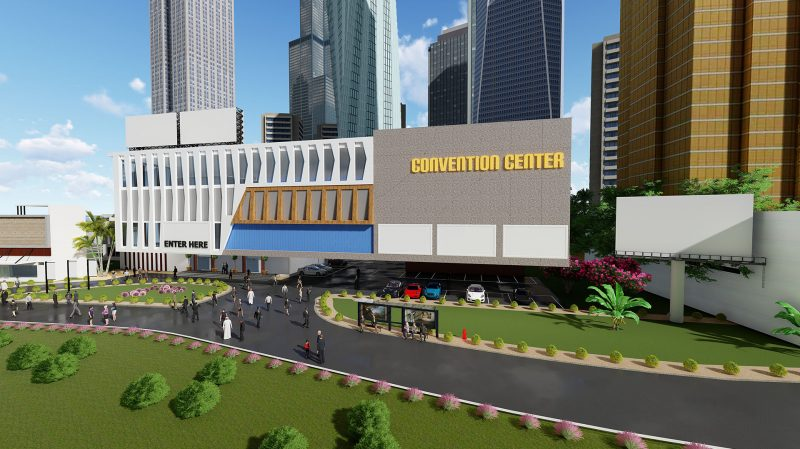 Entrance to Virtual Conference - V-Unite virtual events platform