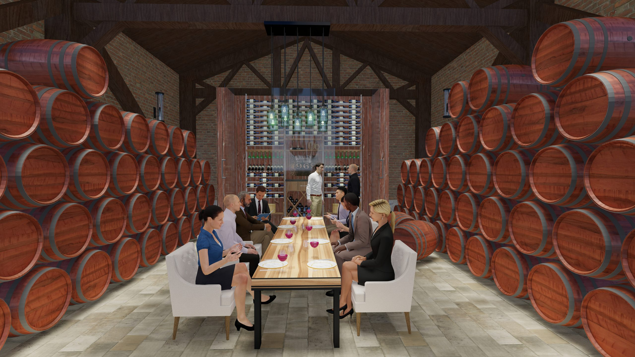 Virtual Event in Wine Cellar