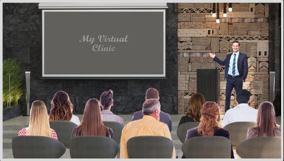 Giving a virtual presentation
